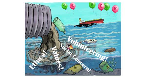 Is volunteering a worthless social currency in a greedy world?